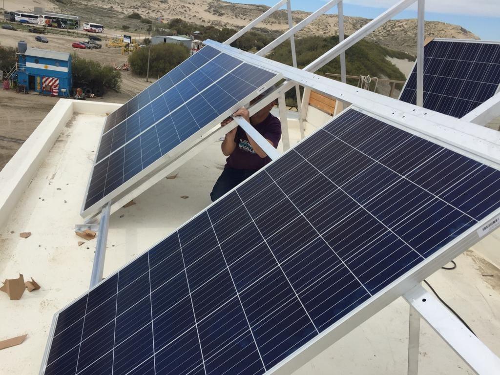 Solar Energy Oc 233 Ano Patagonia Oceano Patagonia